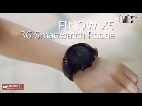 FINOW X5 3G Smartwatch Phone - Gearbest.com