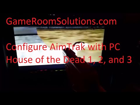 Setup Dual AimTrak Guns with PC House of the Dead 1, 2, 3 in HyperSpin