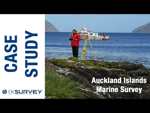 IXSURVEY Australia Case Study // Auckland Islands - New Zealand (Marine Hydrographic Survey)