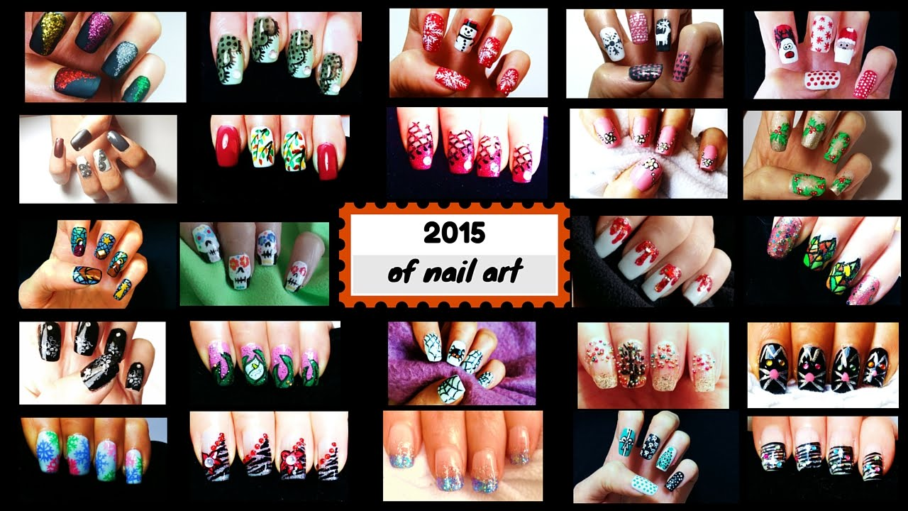 Nail Art Gallery 2015 - YouTube