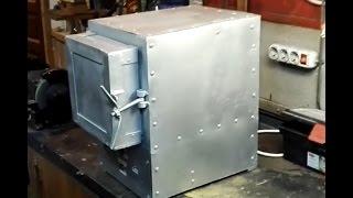 видео Изготавление муфельной печи своими руками