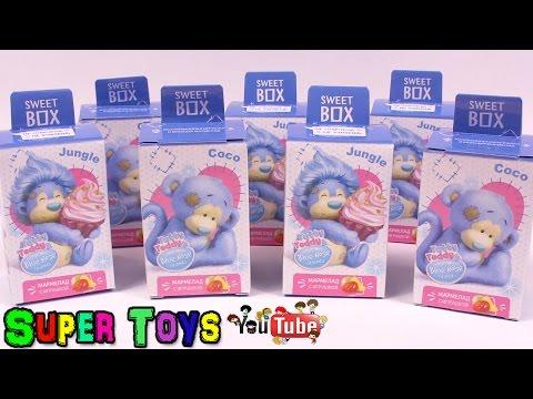 Видео: СВИТ БОКС сюрприз Sweet Box для детей Игрушки Toy surprises Kinder Surprise