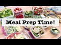 Family Friendly Meal Prep for the Week    Breakfast Bowls  Chocolate Chip Muffins  Burgers    Keto