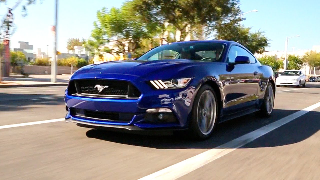 2015 Ford Mustang   Review and Road Test   YouTube