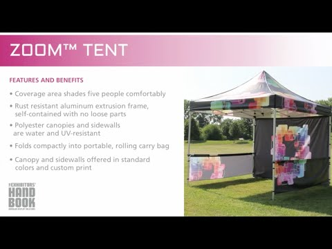 Zoom™ PopUp Tent Set Up Thumbnail