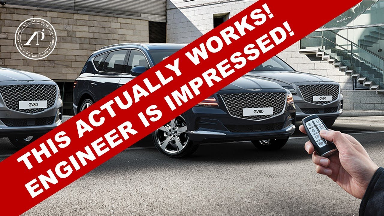 THIS ACTUALLY WORKS! Automotive Engineer is Impressed with Genesis GV80's Smart Parking Technology!