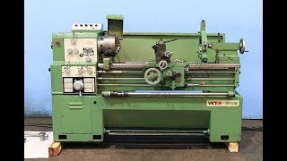"16""/23"" X 40"" VICTOR REMOVABLE  GAP BED ENGINE LATHE"