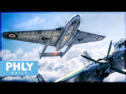 The Little Jet That Could RIP ENEMIES FACES OFF | Vampire FB.5 (War Thunder Jet Gameplay)