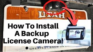 Universal Wireless Vehicle Backup Cameras Explained!