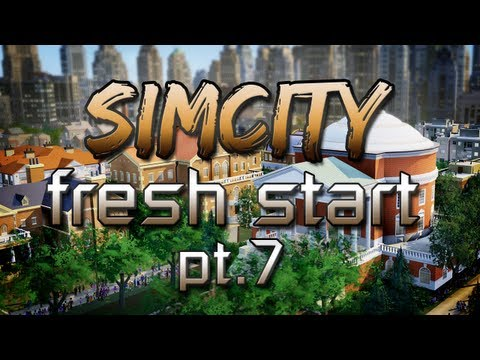 SimCity - A Fresh Start! Pt.7 - Living on the Edge!