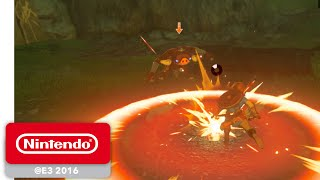 The Legend of Zelda: Breath of the Wild - Weapons and Combat Gameplay - Nintendo E3 2016