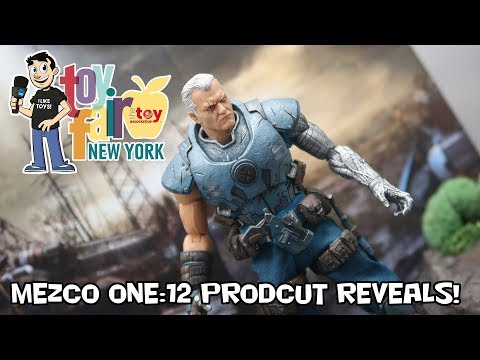 Mezco Toys One:12 Figure Reveals at New York Toy Fair 2018