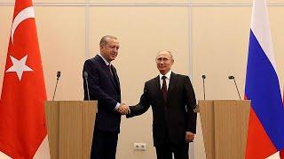 Erdogan trifft Putin: Russland macht Druck für Syrien-Lösung