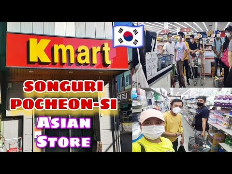 PALENGKE DAY FILIPINO IN SOUTH KOREA | ASIAN STORE IN SONGURI POCHEON-SI KOREA
