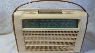 1962 philips model l4x98t 72 transistor radio made in holland