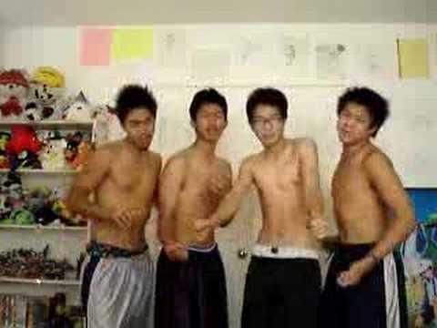 naked asian boy band