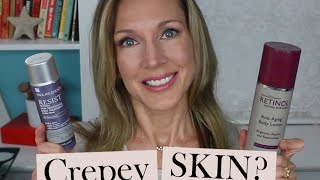 Before & After: Retinol Body Lotion for Crepey Skin!