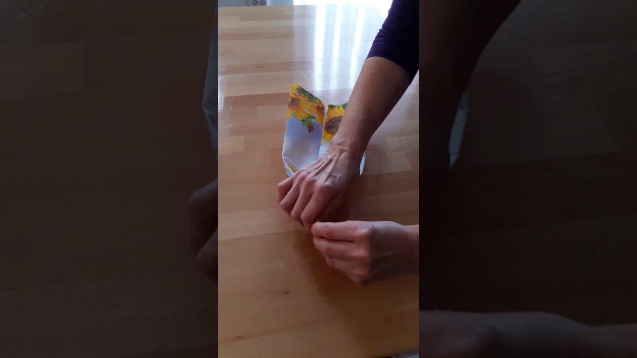 Atemschutz Maske DIY selber Basteln Corona Virus