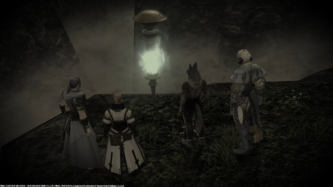 Story Finale- Activating the Aetheryte Relay   : The Forbidden Lands Eureka  Anemos
