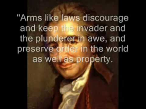 2Nd Amendment Quotes Enchanting Founding Fathers Second Amendment Quotes  Youtube