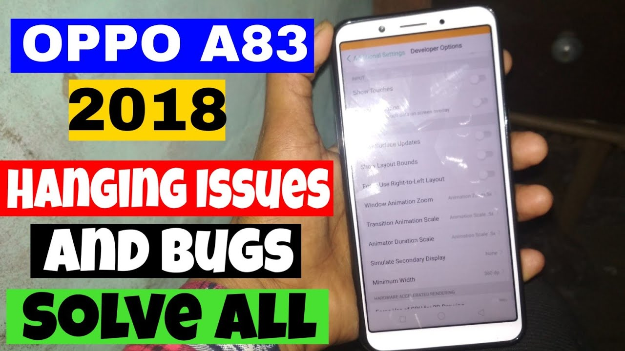 Oppo A83 Problems Videos - Waoweo
