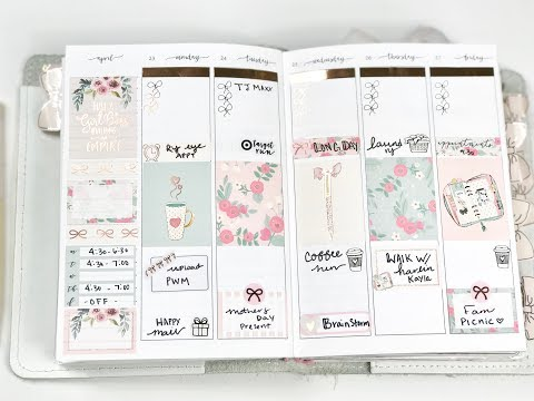 Plan With Me || B6 Vertical ||  Ft Paper Muse Crafts