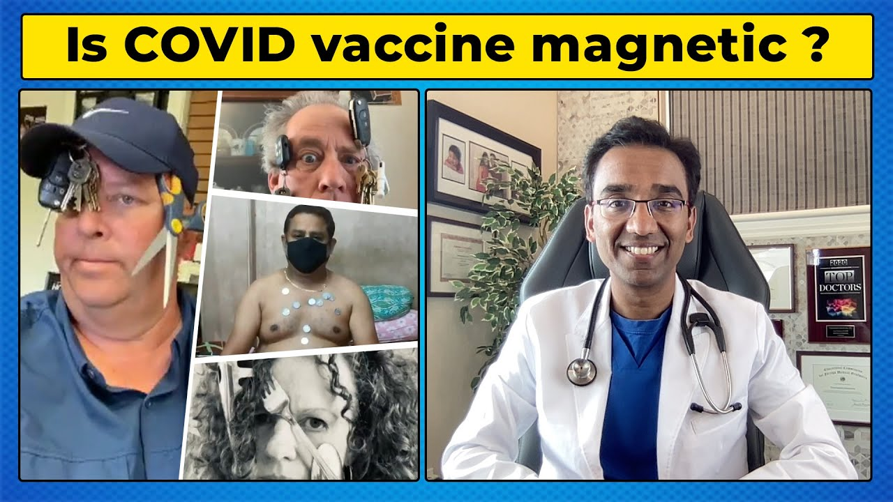 Vaccine is turning people a powerful MAGNET ?