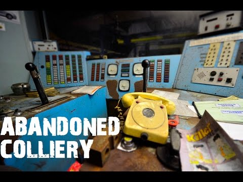 Abandoned Scottish Colliery(Coal Mining) - Urban Exploration