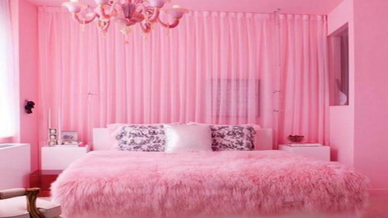 Pink Bedrooms 7 Pretty In Pink Bedrooms  Youtube