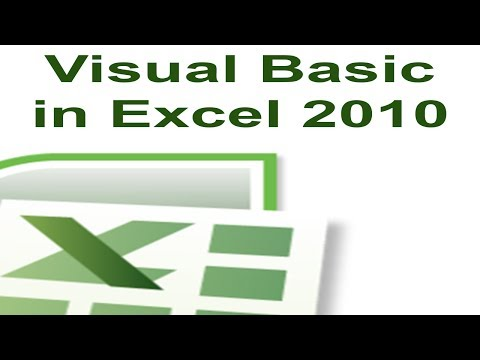 Excel VBA Tutorial 1 - Creating a Macro with Visual Basic For Applications