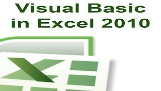 Excel 2010 VBA Tutorial 1 - Creating a Macro with Visual Basic For Applications