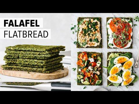 FALAFEL FLATBREAD | amazing vegan flatbread recipe