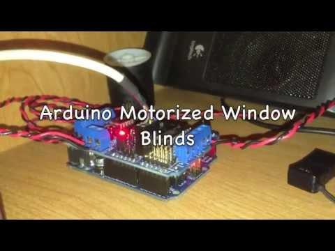 Arduino Motorized Window Blinds