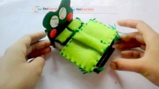 Cara Membuat Miniatur Tempat Tidur dari Spongs - IniCaraku