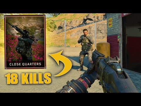 *NEW* CLOSE QUARTERS LTM 18 FRAG VICTORY! (Call of Duty Blackout Beta Gameplay)
