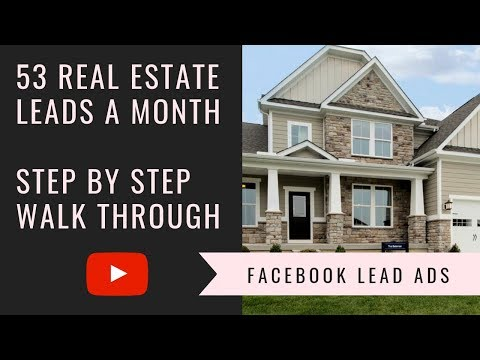 🏡 Facebook Ads Real Estate Agents | 53 Leads a Month