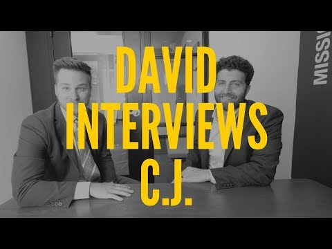 cj gets interviewed by david