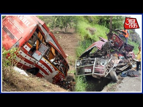 Mumbai-Pune Expressway Accident: 17 Dead As Bus Crashes Into Two Cars