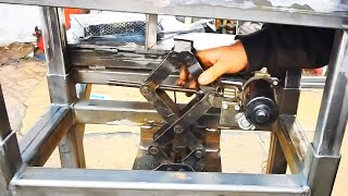 Making multifunctional drill press table