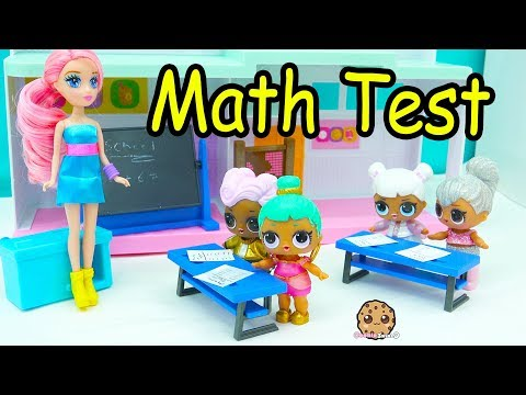 LOL Surprise Big Sister Blind Bag At School - Gym Class + Math Test Day