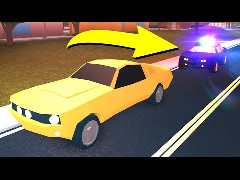 I GOT PULLED OVER IN ROBLOX JAILBREAK..