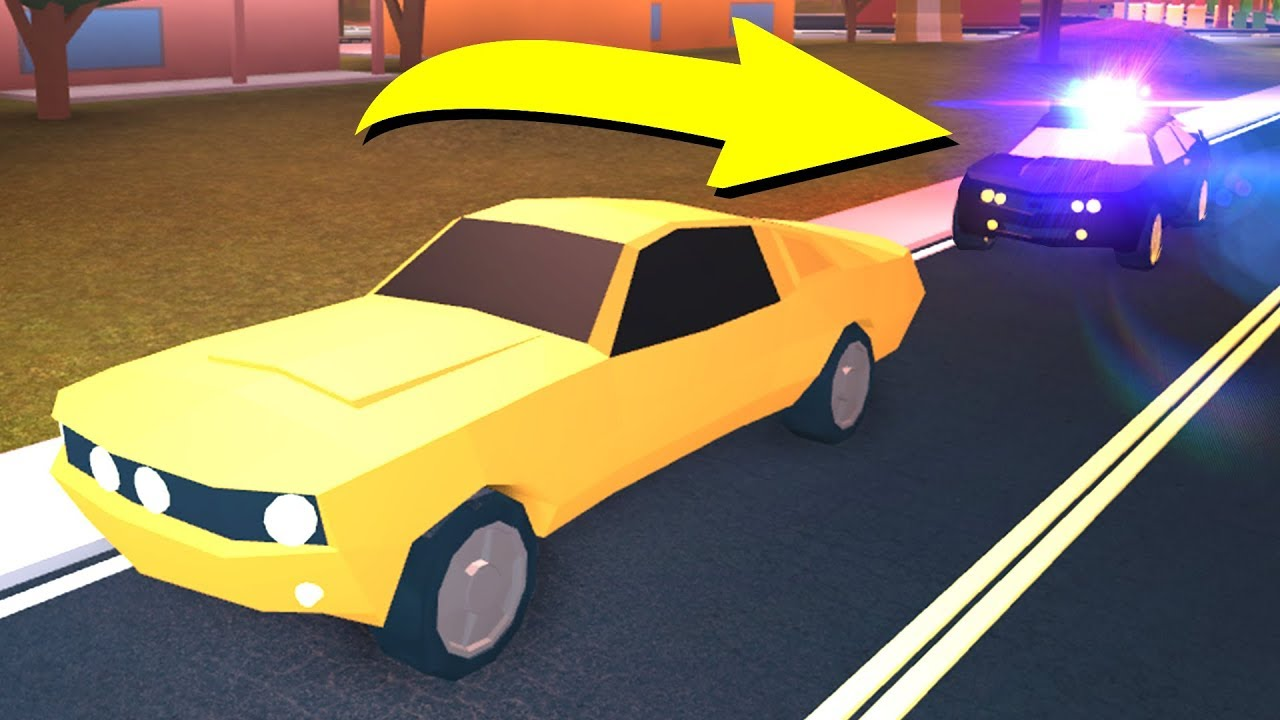 I GOT PULLED OVER IN ROBLOX JAILBREAK