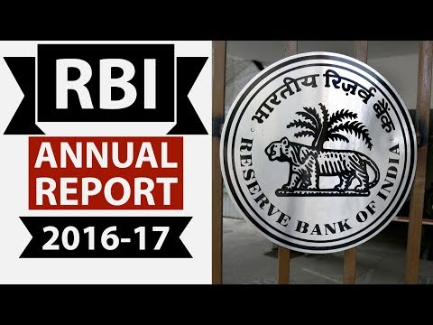 RBI Annual report 2016-17 on Demonetisation - complete analysis for UPSC/IBPS PO/RBI Grade B
