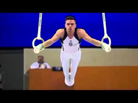 Gold medal for Eleftherios Petrounias March 25, 2016