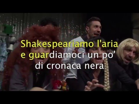 SHAKESPEARE IN 8 MINUTI - KARAOKE by OBLIVION