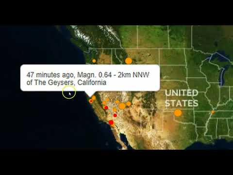 Massive 'Mega Quake' Drill Being Held In Washington State