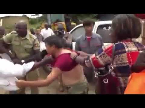 Two Chinese labourers beat up Ugandan minister