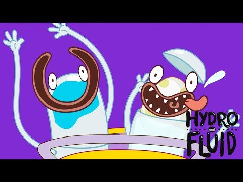 HYDRO and FLUID | Floating Egg | HD Full Episodes | Funny Cartoons for Children