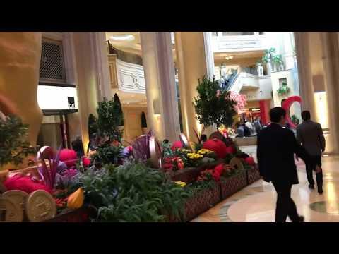 Walk Way From Palazzo To The Venetian In Las Vegas
