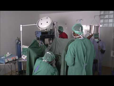 TURP OPERATION  AT HOPITAL NOTRE DAME SA (TRANSURETRAL PROSTATECTOMY)